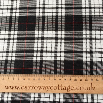 Tartan - Menzies Dress - Felt Backed Fabric