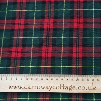 Tartan - Christmas Plaid - Felt Backed Fabric