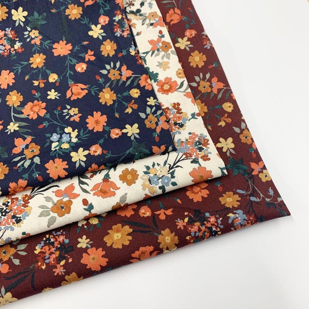 Autumn Felt Backed Fabric