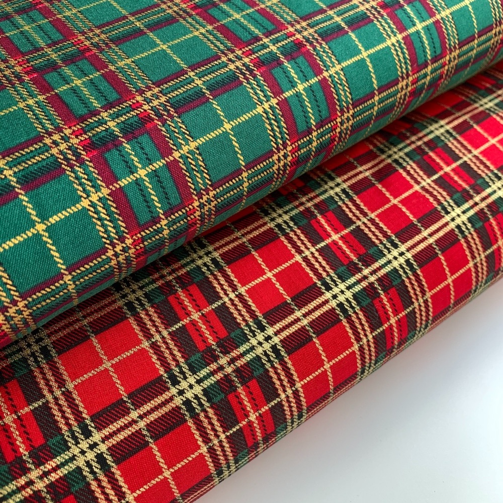 Christmas Felt Backed Fabric