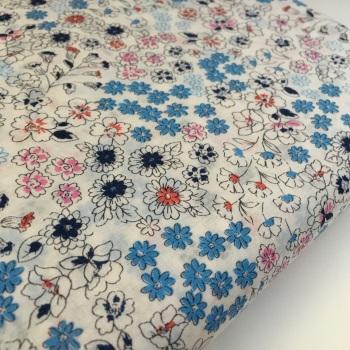 Frou Frou - Fleuri 26 Ivoire Nacre - Felt Backed Fabric