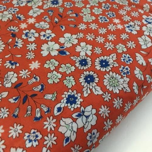 Frou Frou Cotton Lawn - Fleuri 25 Ambre