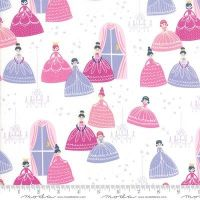 Moda Fabrics - Once Upon a Time - Grand Ball White