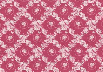 Lecien Woodland Rose - Rose Lattice