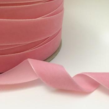 22mm Velvet Ribbon - Blush Pink