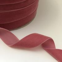 22mm Velvet Ribbon - Rose