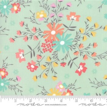 Moda Fabrics - Sunnyside Up! - Flower Sugar Creek Aqua