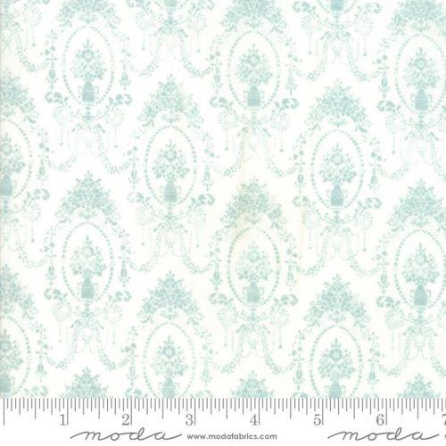 Moda Fabrics - Amberley - Hometown Sky Damask Topiaries