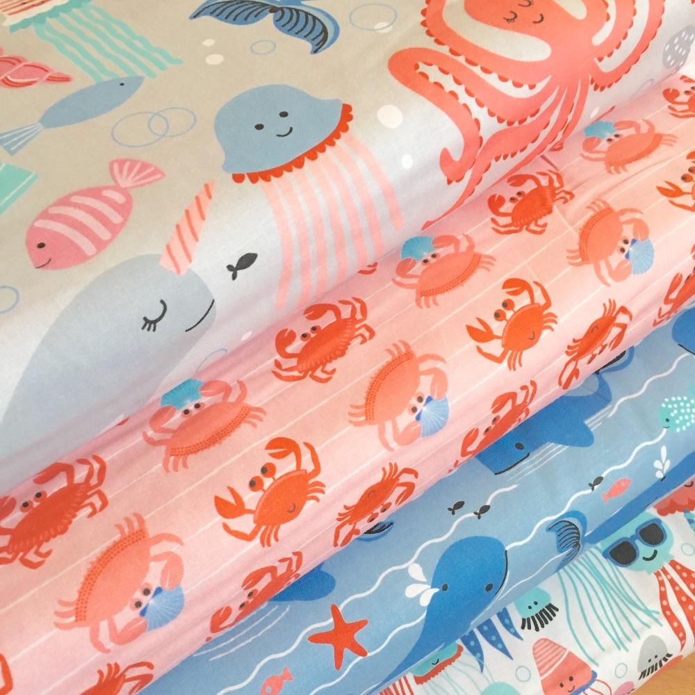 Underwater Fanta-Sea by Blend Fabrics