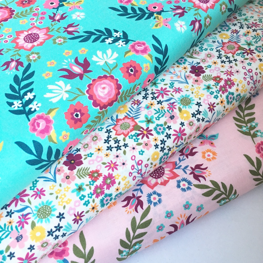 Moda Fabrics - Rosa