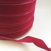 22mm Velvet Ribbon - Raspberry