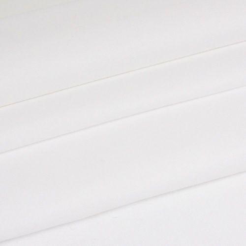 Chambray Plain - White