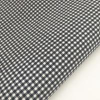 """Navy 1/8"""" Gingham  - Felt Backed Fabric"""