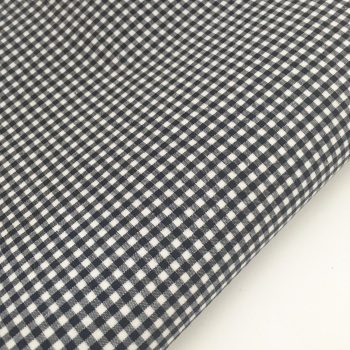 "Navy 1/8"" Gingham  - Felt Backed Fabric"
