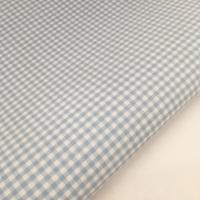 """Baby Blue 1/8"""" Gingham  - Felt Backed Fabric"""