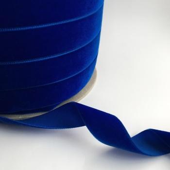 22mm Velvet Ribbon - Royal Blue