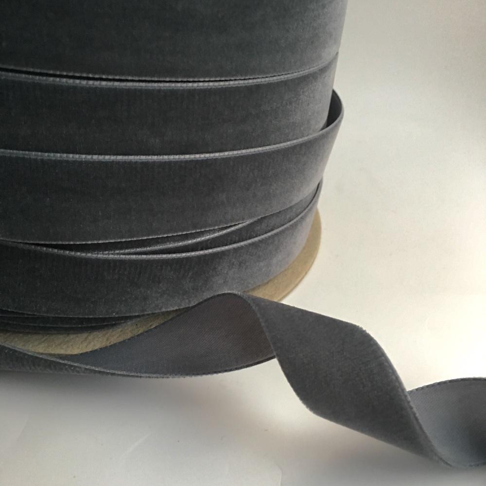 22mm Velvet Ribbon - Dolphin