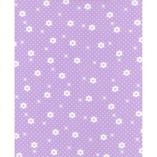Lecien Flower Sugar Ross Kiss - Daisy Dot Pearl Violet