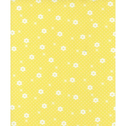 Lecien Flower Sugar Ross Kiss - Daisy Dot Corn Yellow