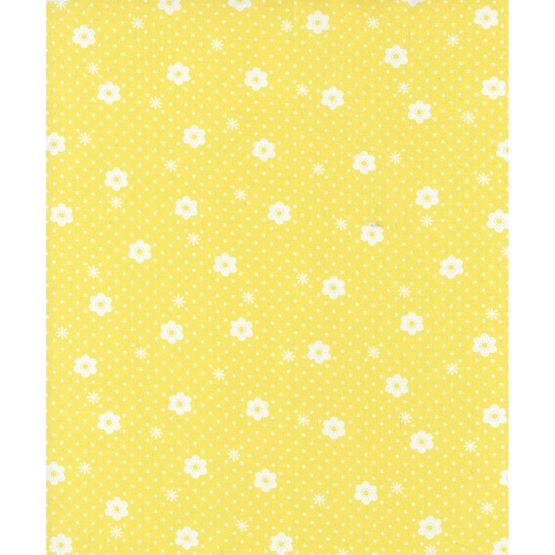 Lecien Flower Sugar Ross Kiss - Daisy Dot Corn Yellow