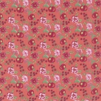 Lecien Loyal Heights by Jera Brandvig - Strawberry Fruit Blooms (Metallic)