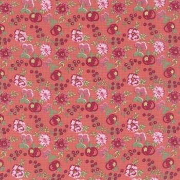 Lecien Loyal Heights by Jera Brandvig - Strawberry Fruit Blooms (Metallic)