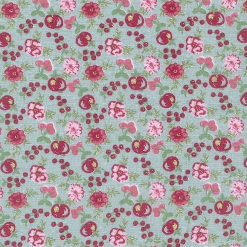 Lecien Loyal Heights by Jera Brandvig - Dewdrops Fruit Blooms (Metallic)