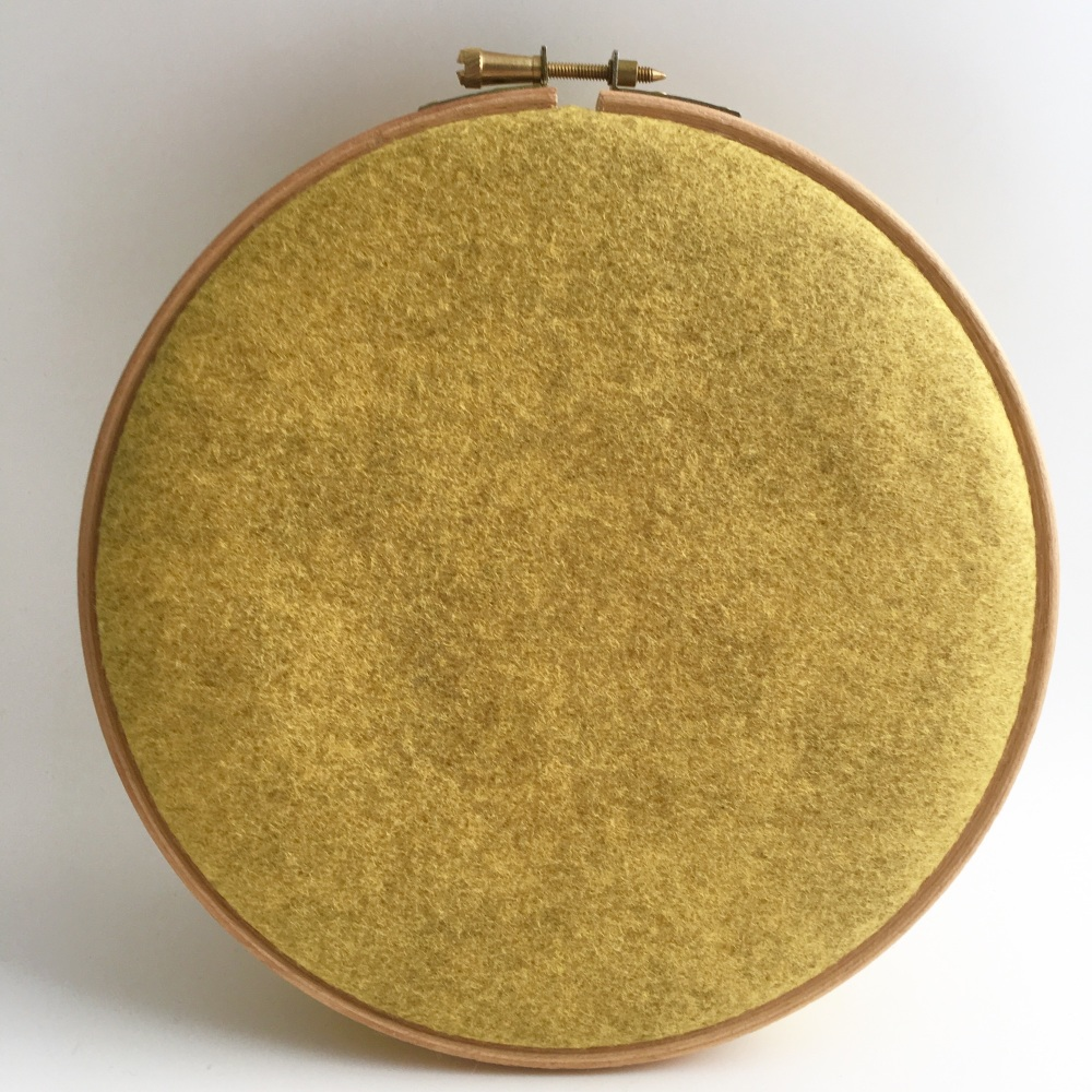<!--020--> Honey Mustard Wool Blend Felt