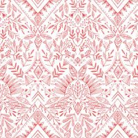 Skogen by Dashwood Studio - Boho Red
