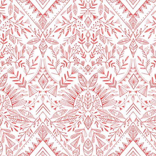 Skogen by Dashwood Studio - Boho Red