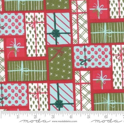 Moda Fabrics - To be Jolly - Berry Presents