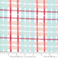 Moda Fabrics - To be Jolly - Frosty Plaid
