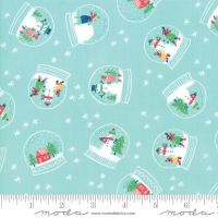 Moda Fabrics - Snow Day - Snowglobe Magic Ice