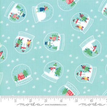 Moda Fabrics - Snow Day - Snowglobe Magic Ice