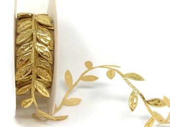 Gold Cut Leaf Trim