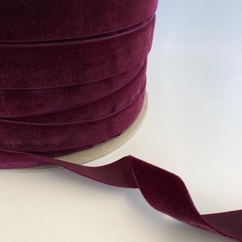 22mm Velvet Ribbon - Plum