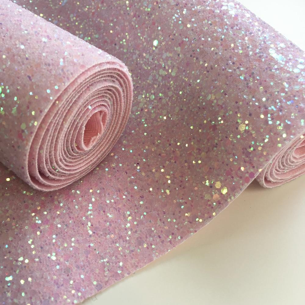 Spring Glitter Fabric