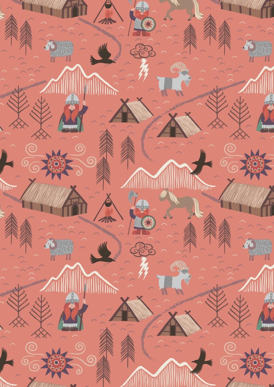 Lewis and Irene -  Viking Adventure - Viking Village on Peach