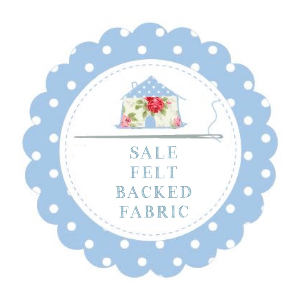 Sale Felt Backed Fabric