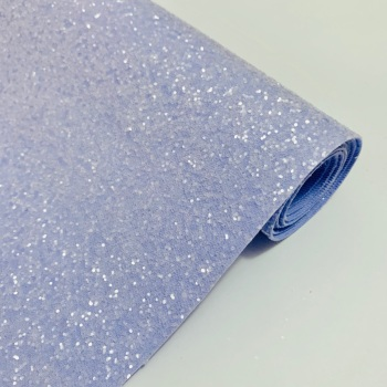 Premium Frosted Glitter Fabric - Lilac
