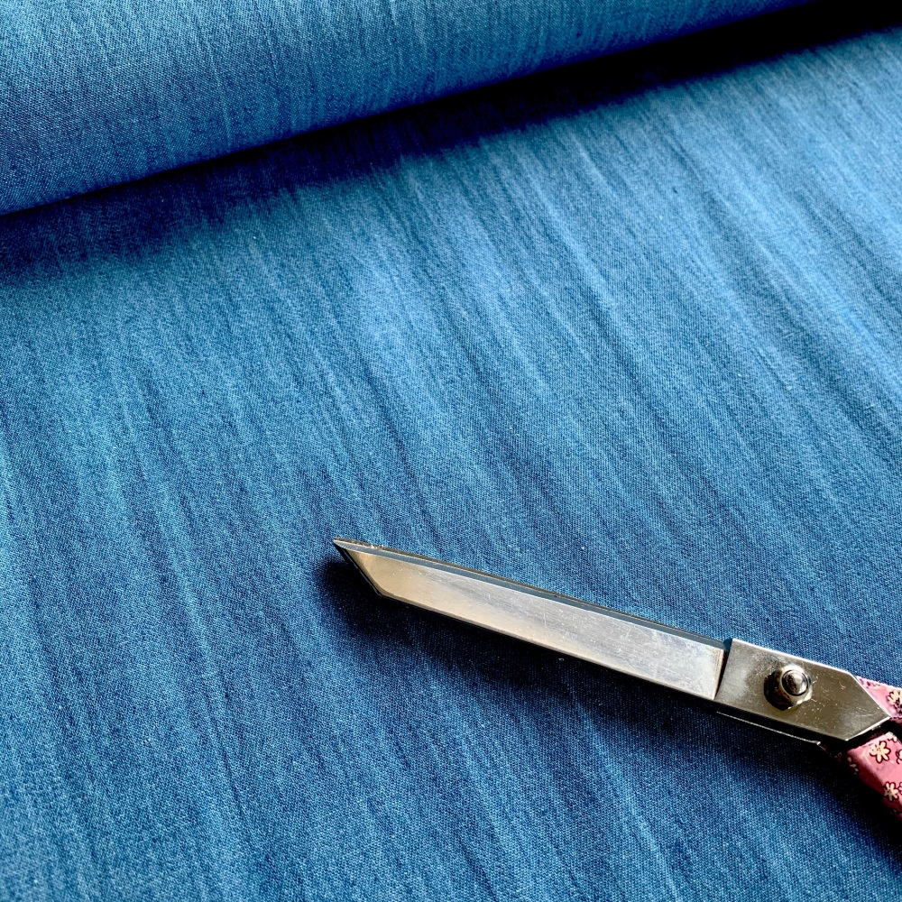 100% Cotton Denim 4.5oz Light Blue