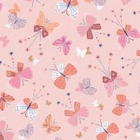 Celeste by Dashwood Studio -  Metallic Butterflies Pink
