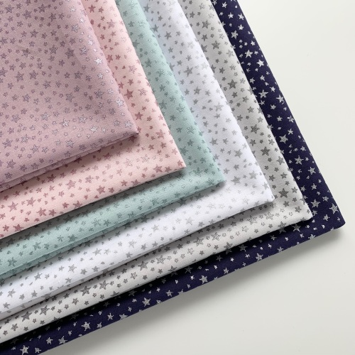 Poppy Europe - Little Star Metallic - Felt Backed Fabric