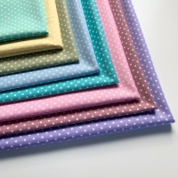 Rose and Hubble - 3mm Polka Dot Spot - Felt Backed Fabric - Pastel Colours