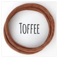 Toffee Dainties Nylon Headbands