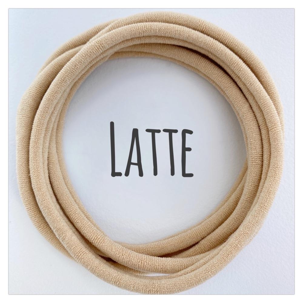 Latte Dainties Nylon Headbands