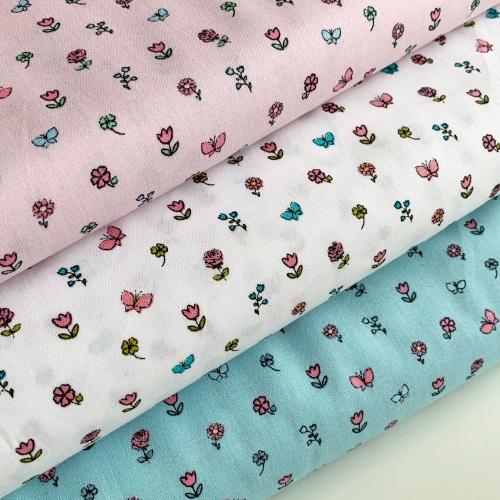 Poppy Europe - Pretty Princess Floral - Felt Backed Fabric