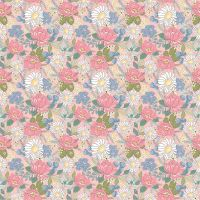 Poppie Cotton - Country Roads Pink Floral