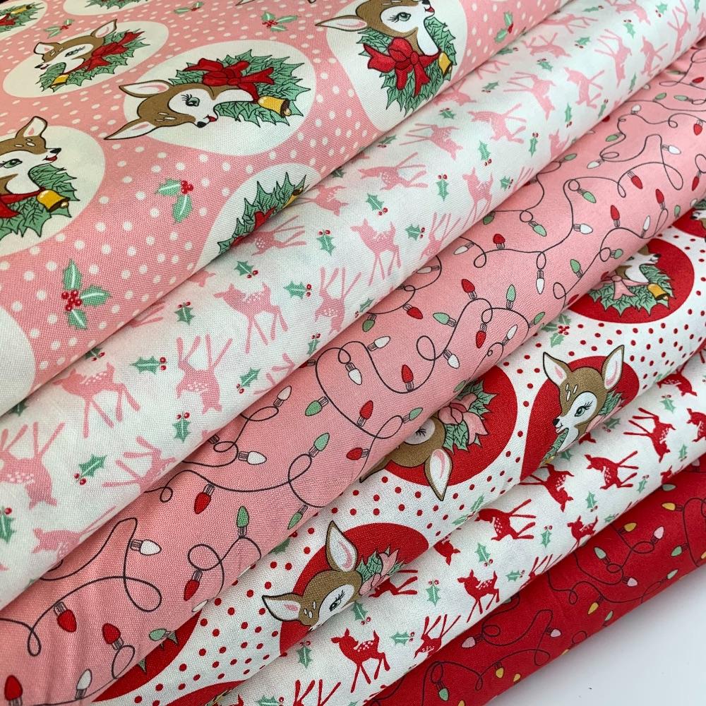 Moda Fabric - Deer Christmas