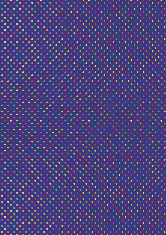 Lewis and Irene -  Rainbows - Bright Rainbow Dots
